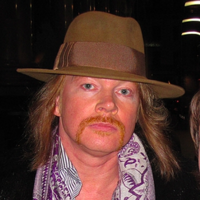 Axl Rose Autograph Profile by RACC - Real Autograph