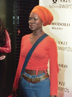 India.Arie Paparazzi Shot by Justin Steffman