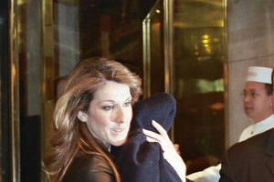 Celine Dion with Justin Steffman