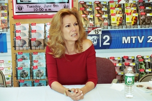 Kathie Lee Gifford with Justin Steffman