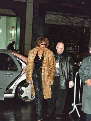 Whitney Houston Paparazzi Shot by Justin Steffman