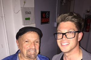 Felix Cavaliere with Shaun Philipps
