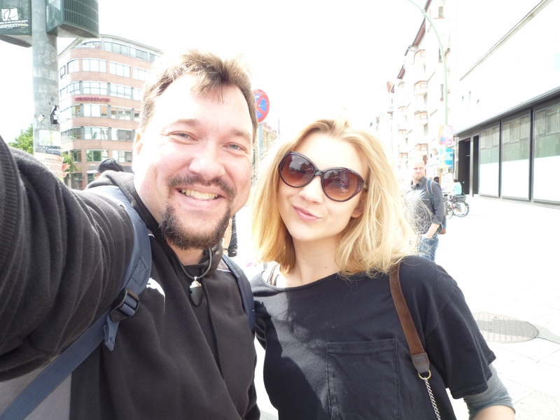 Natalie Dormer Photo with RACC Autograph Collector RB-Autogramme Berlin