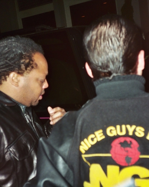 LeRoi Moore with Justin Steffman