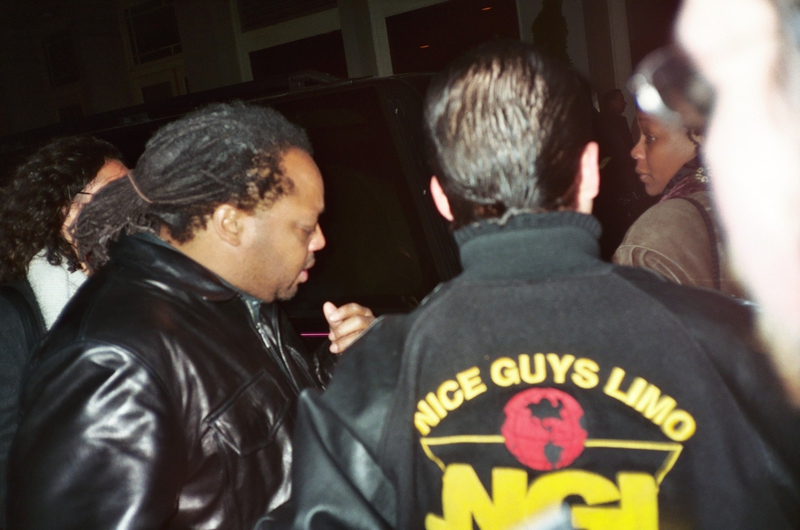 LeRoi Moore Paparazzi Shot by Justin Steffman