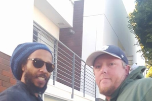 Ziggy Marley with David Durocher