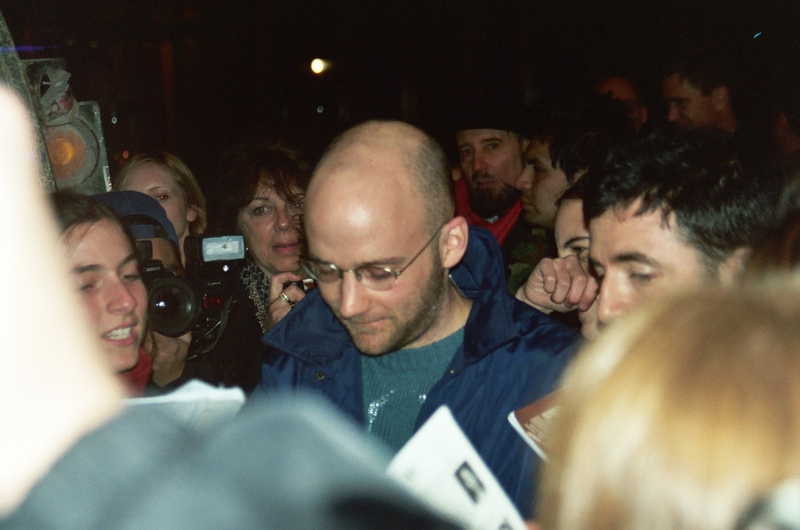 Moby Paparazzi Shot by Justin Steffman