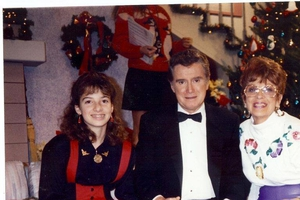 Regis Philbin with Laura LaBarber