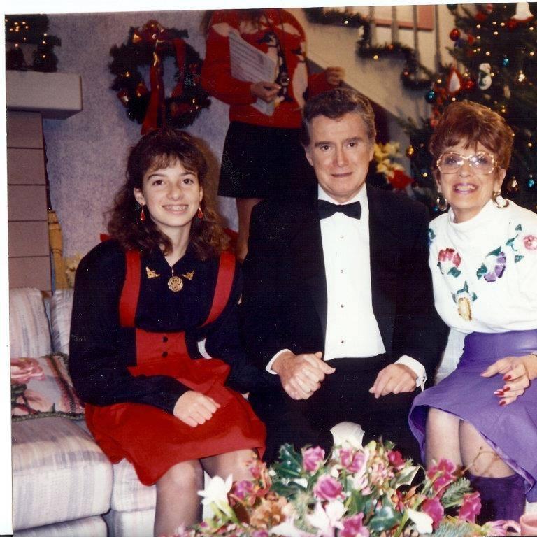 Regis Philbin Photo with Authentic Autograph Dealer Laura LaBarber