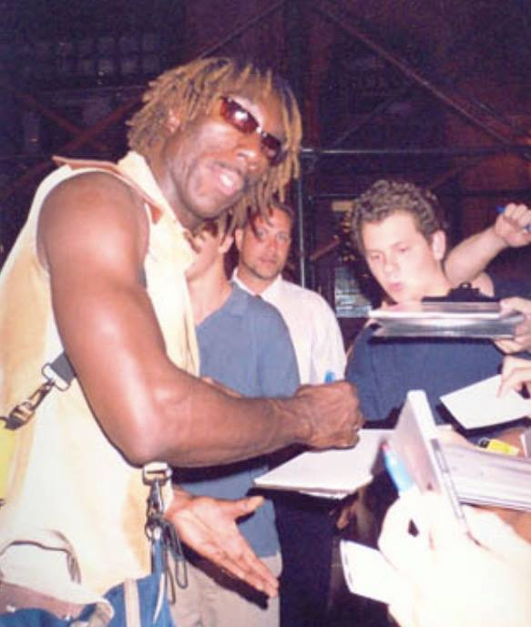 Boyd Tinsley Photo with RACC Autograph Collector Certified Sigs
