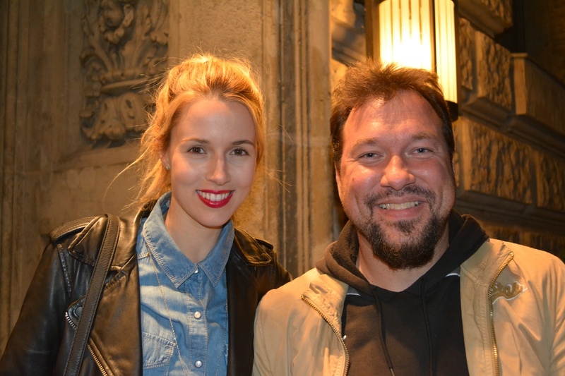 Alona Tal Photo with RACC Autograph Collector RB-Autogramme Berlin
