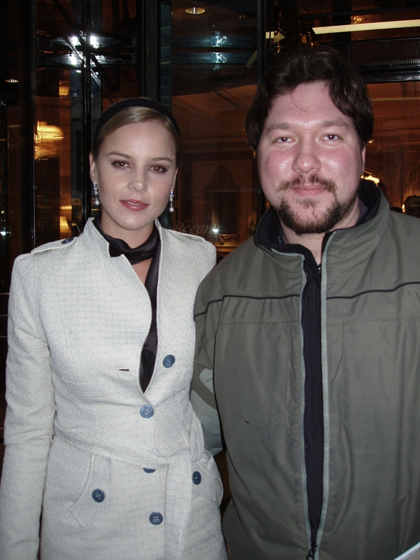 Abbie Cornish Photo with RACC Autograph Collector RB-Autogramme Berlin