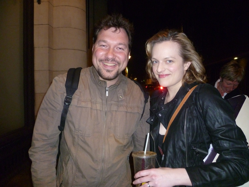 Elisabeth Moss Photo with RACC Autograph Collector RB-Autogramme Berlin