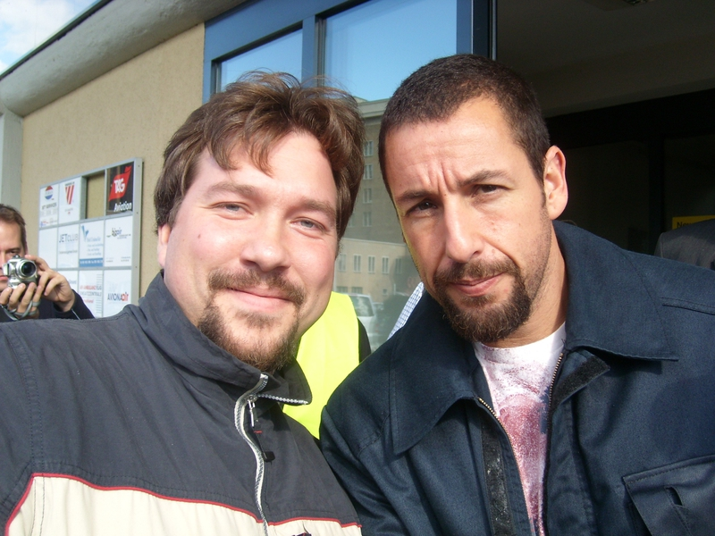 Adam Sandler Photo with RACC Autograph Collector RB-Autogramme Berlin