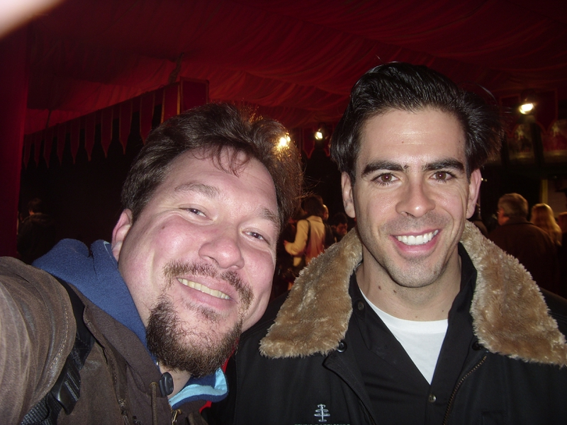 Eli Roth Photo with Authentic Autograph Dealer RB-Autogramme Berlin