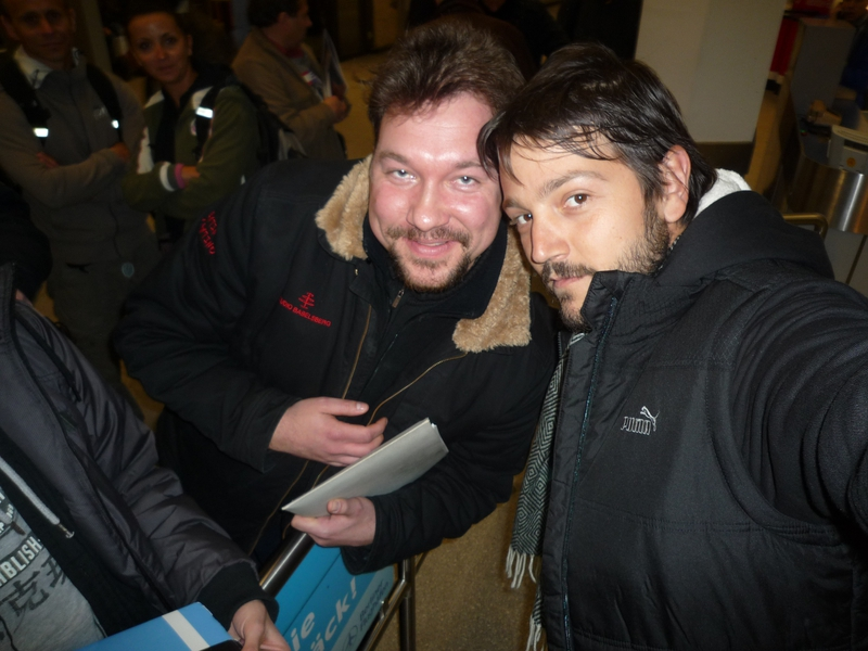 Diego Luna Photo with RACC Autograph Collector RB-Autogramme Berlin