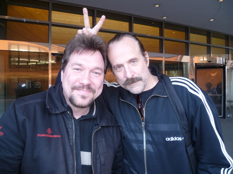Peter Stormare Photo with RACC Autograph Collector RB-Autogramme Berlin