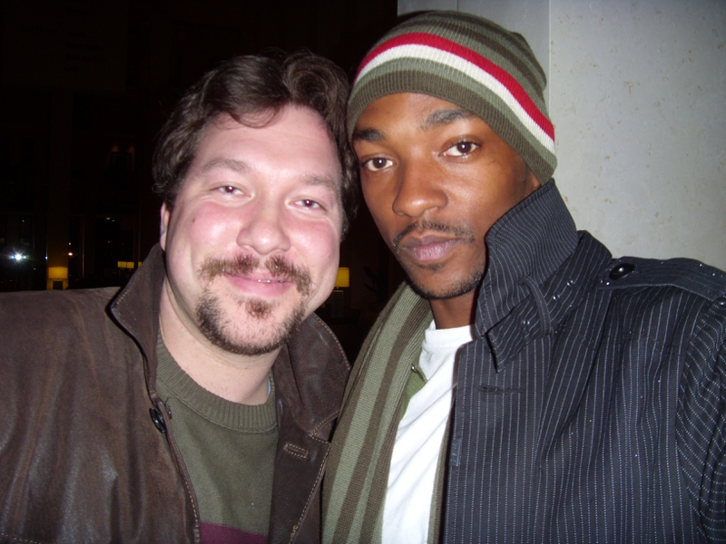 Anthony Mackie Photo with RACC Autograph Collector RB-Autogramme Berlin