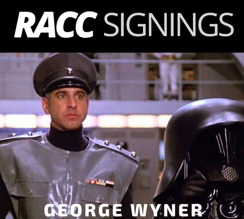 Space Balls' Autograph Signing with George Wyner aka Colonel Sandurz!