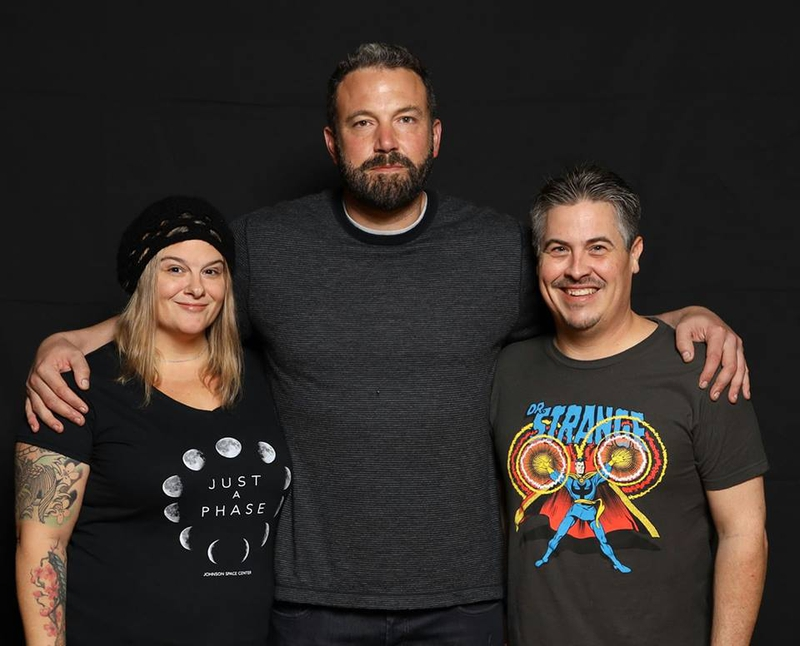 Ben Affleck Photo with RACC Autograph Collector Bryan Calloway