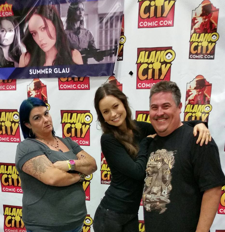 Summer Glau Photo with RACC Autograph Collector Bryan Calloway