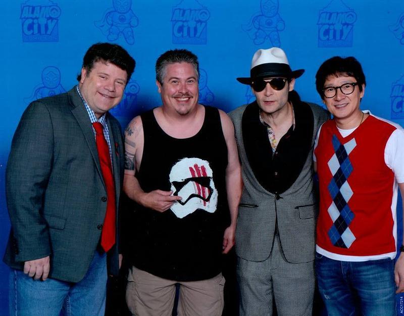 Sean Astin Photo with RACC Autograph Collector Bryan Calloway