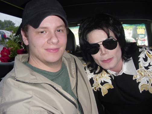 Michael Jackson Photo with RACC Autograph Collector Certified Sigs