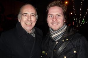 Mick Jones with Robert Swale