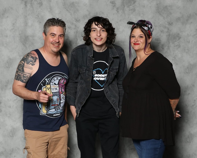 Finn Wolfhard Photo with RACC Autograph Collector Bryan Calloway