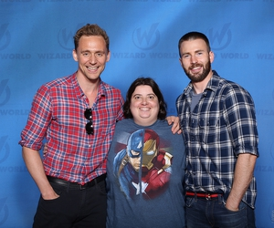 Chris EvansTom Hiddleston