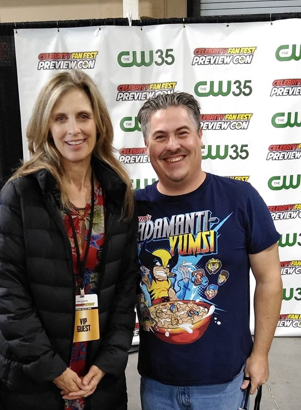 Helen Slater Photo with RACC Autograph Collector Bryan Calloway