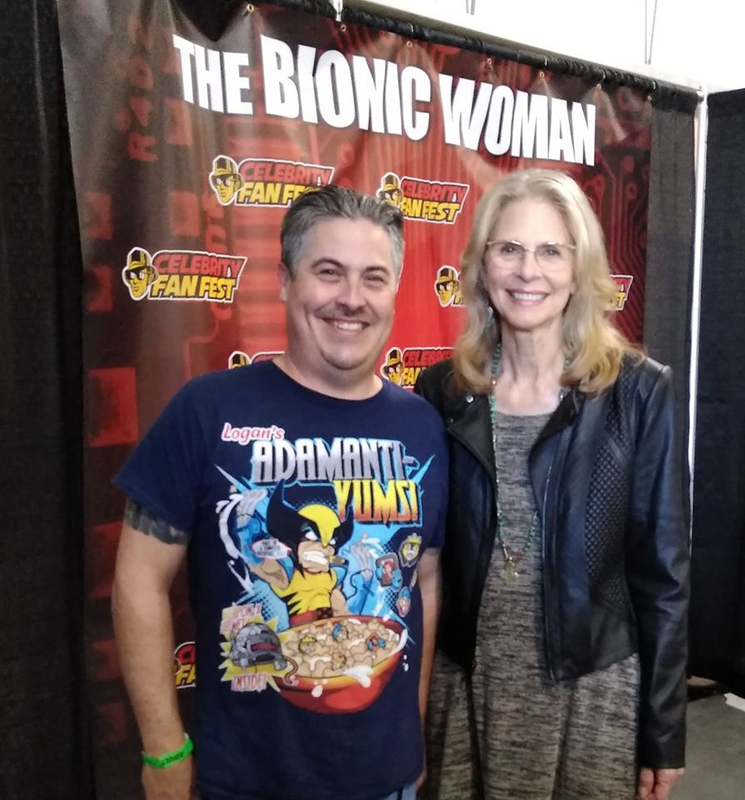 Lindsay Wagner Photo with RACC Autograph Collector Bryan Calloway