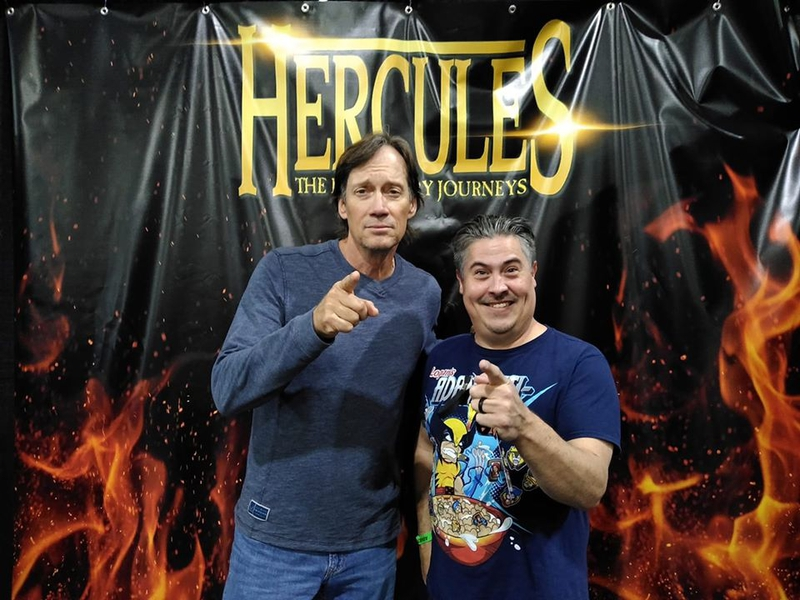 Kevin Sorbo Photo with RACC Autograph Collector Bryan Calloway