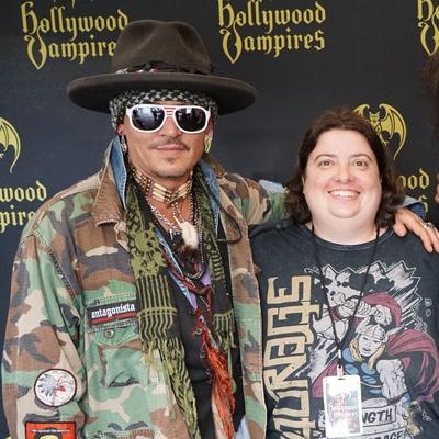 Johnny Depp Autograph Profile