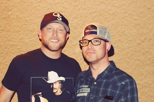 Cole Swindell with Shaun Philipps