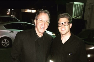 Tim Allen with Shaun Philipps
