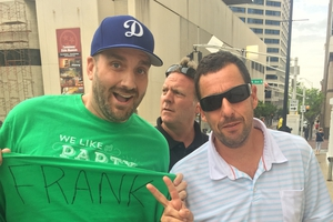 Adam Sandler with Jason Shepherd