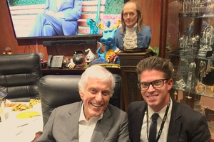 Dick Van Dyke with Shaun Philipps