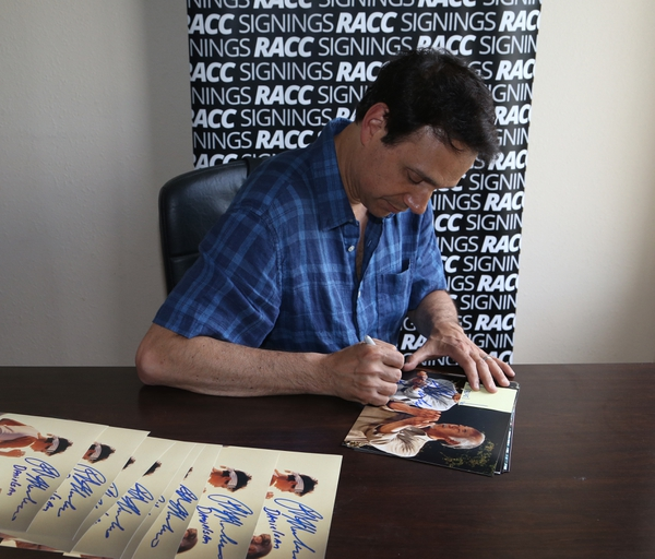 Karate Kid Ralph Macchio Autograph Signing Complete! by RACC