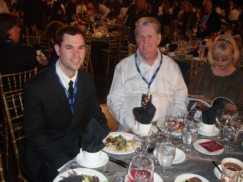 Brian Wilson Photo with Authentic Autograph Dealer Jeff Stenzel