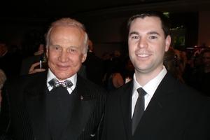 Buzz Aldrin with Jeff Stenzel