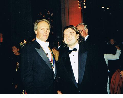 Clint Eastwood Photo with RACC Autograph Collector Bob Pivoroff
