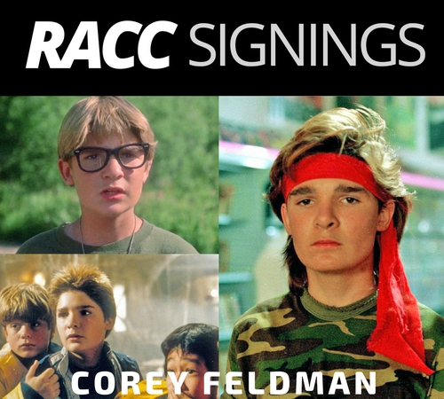 Corey Feldman Autograph Signing! (Goonies, Lost Boys, Stand By Me, Gremlins, Friday the 13th, etc)