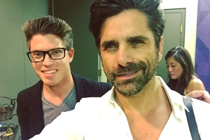 John Stamos with Shaun Philipps