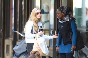 Amanda Seyfried with Justin Steffman