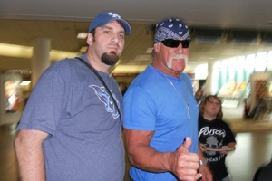 Hulk Hogan with Jason Shepherd