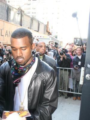 Kanye West Paparazzi Shot by Giovanni Arnold