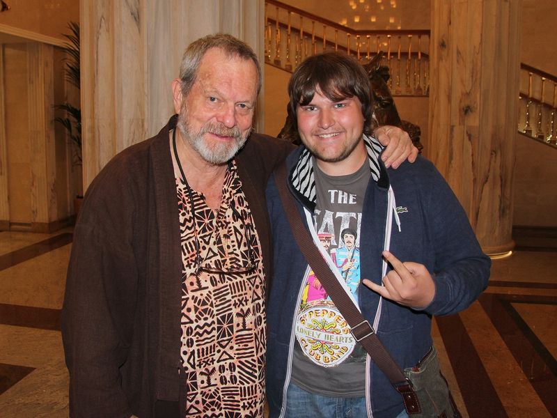 Terry Gilliam Photo with RACC Autograph Collector Ilya Zeta