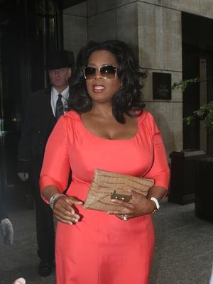 Oprah Winfrey Paparazzi Shot by Giovanni Arnold