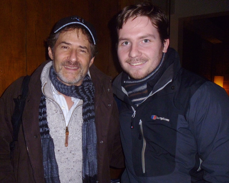 James Horner Photo with Authentic Autograph Dealer Robert Swale
